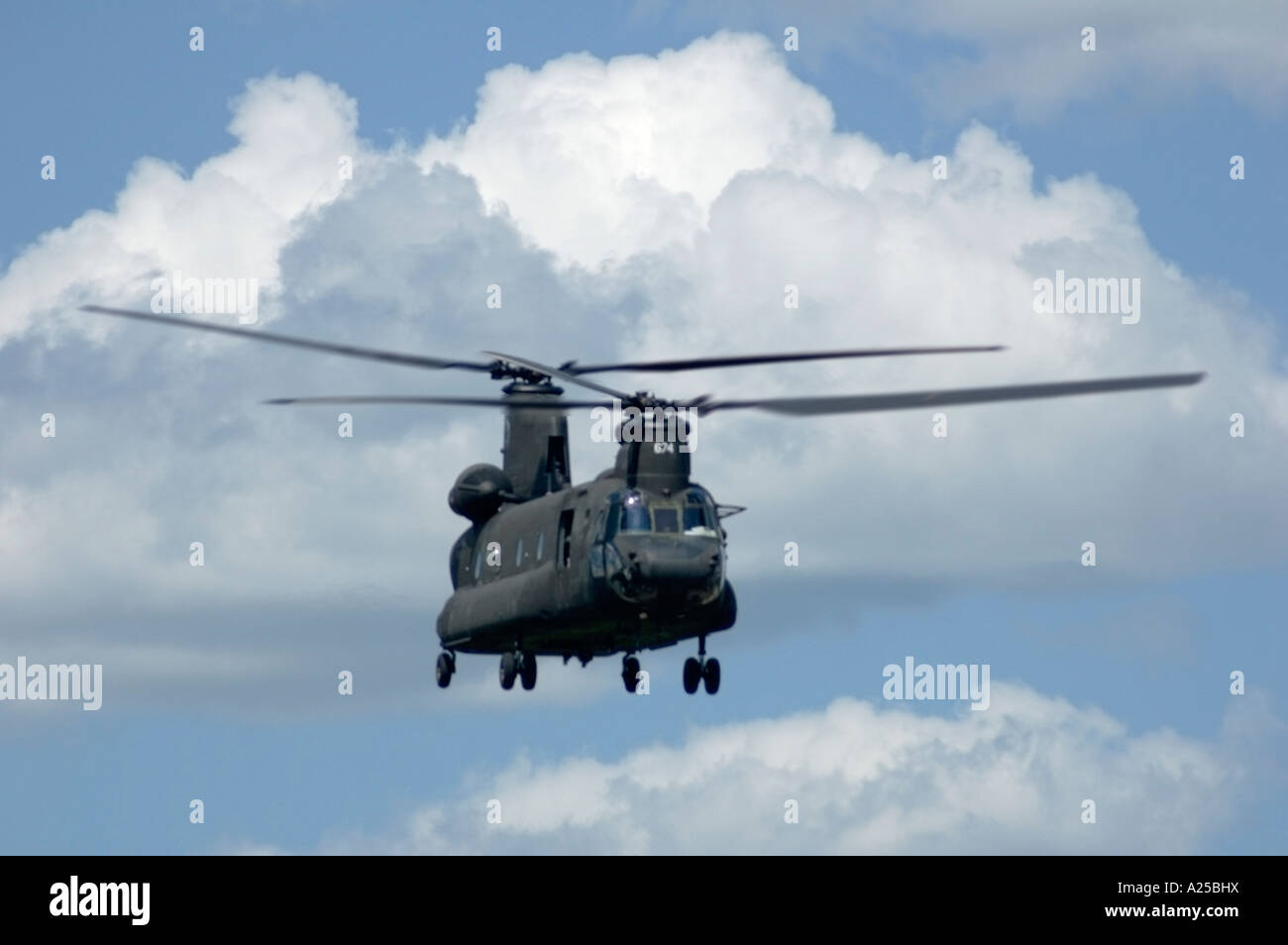 Air National Guard Helicopter - Stock Image