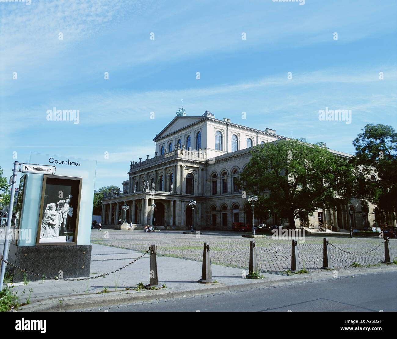 BUILDING HANNOVER GERMANY - Stock Image