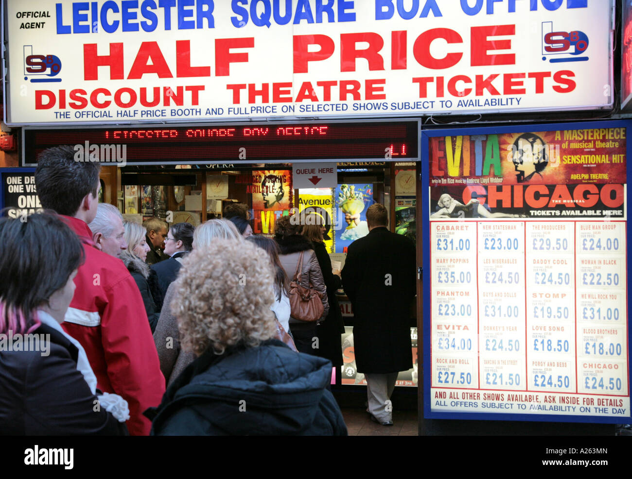 leicester square box office stock photos amp leicester