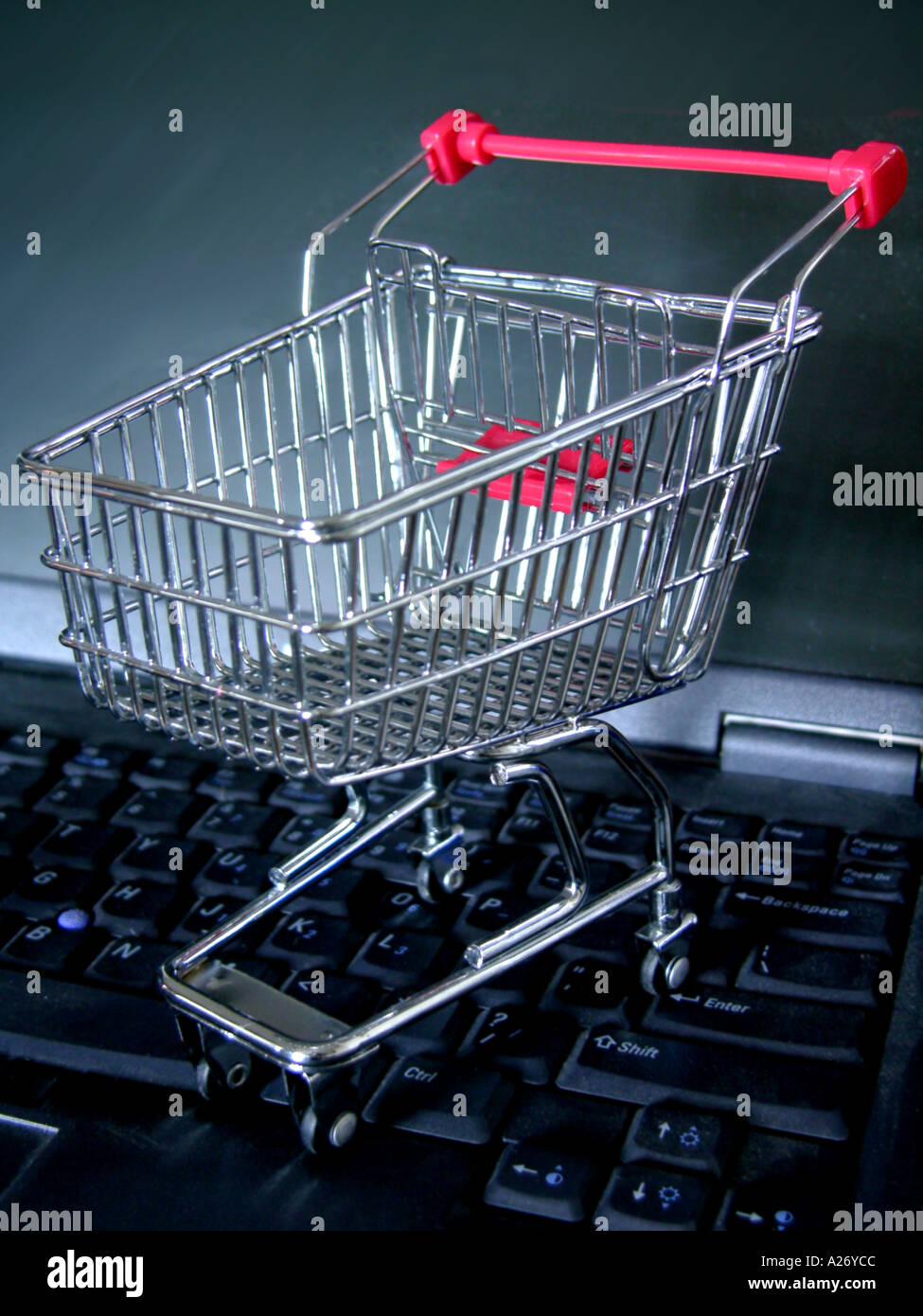 Online Shopping Technology - Stock Image