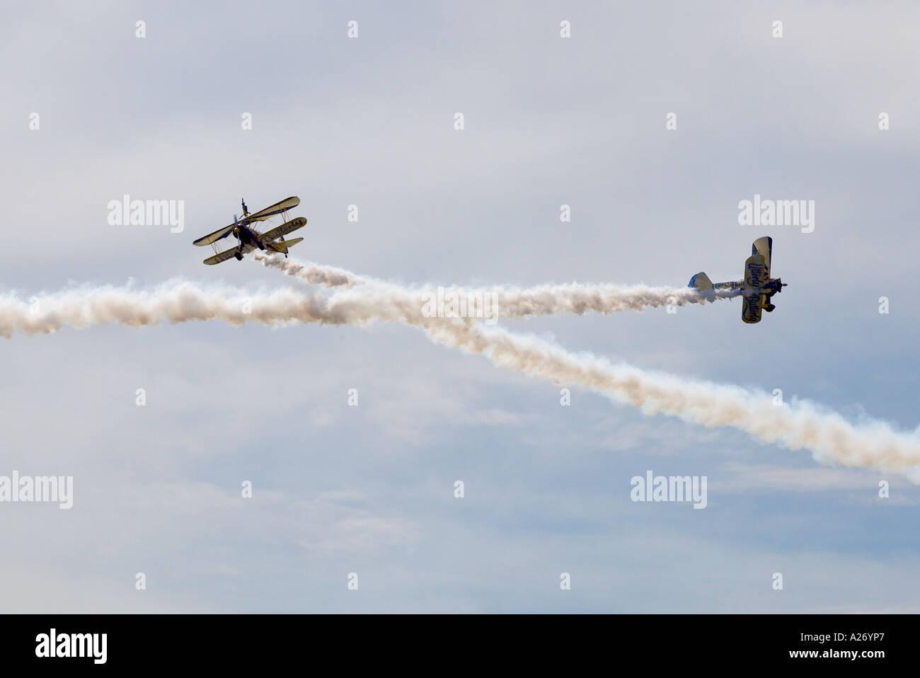 Daredevil planes - Stock Image