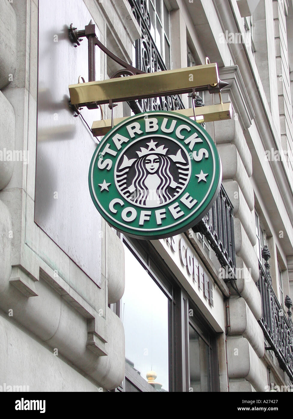 Starbucks Coffee Shop Sign Piccadilly City Of Westminster