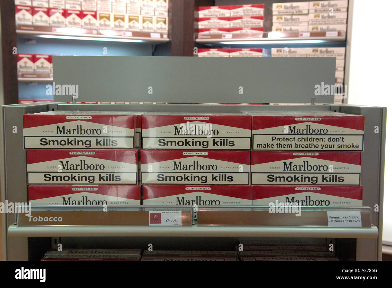 Detroit version cigarettes Marlboro