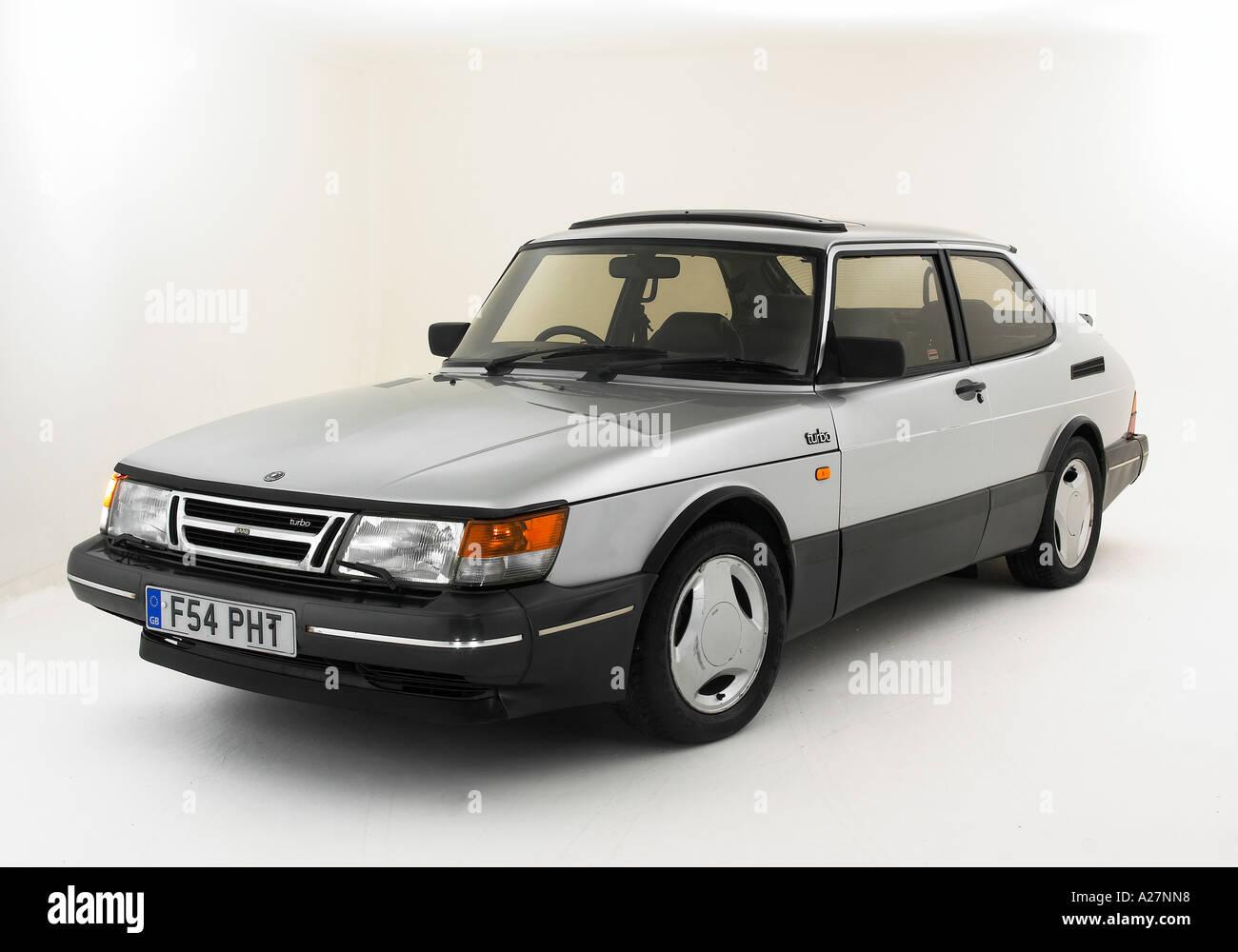1988 Saab 900 Turbo - Stock Image