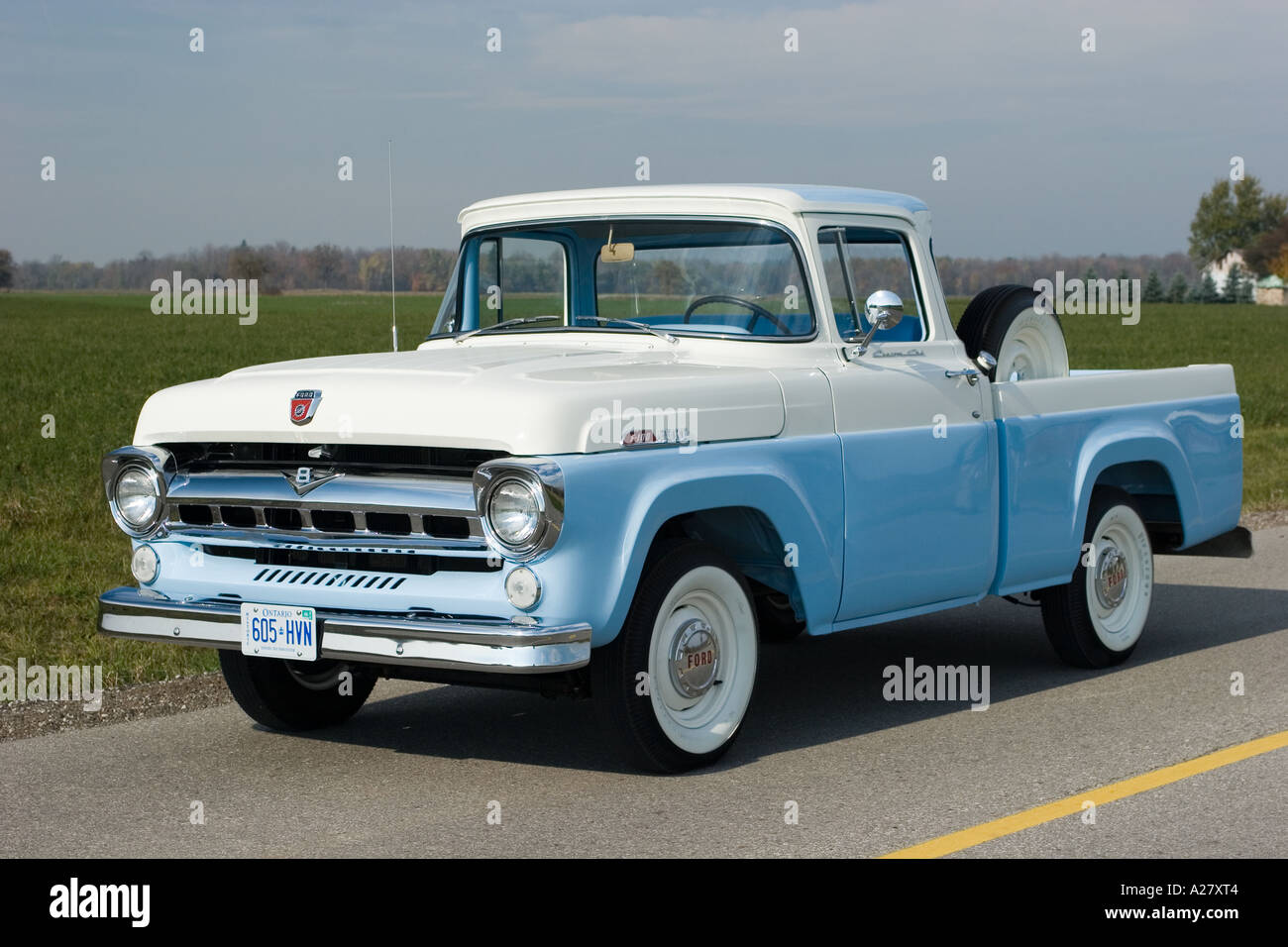 1957 Ford F 100 Pick Up Truck Stock Photo 5963523 Alamy