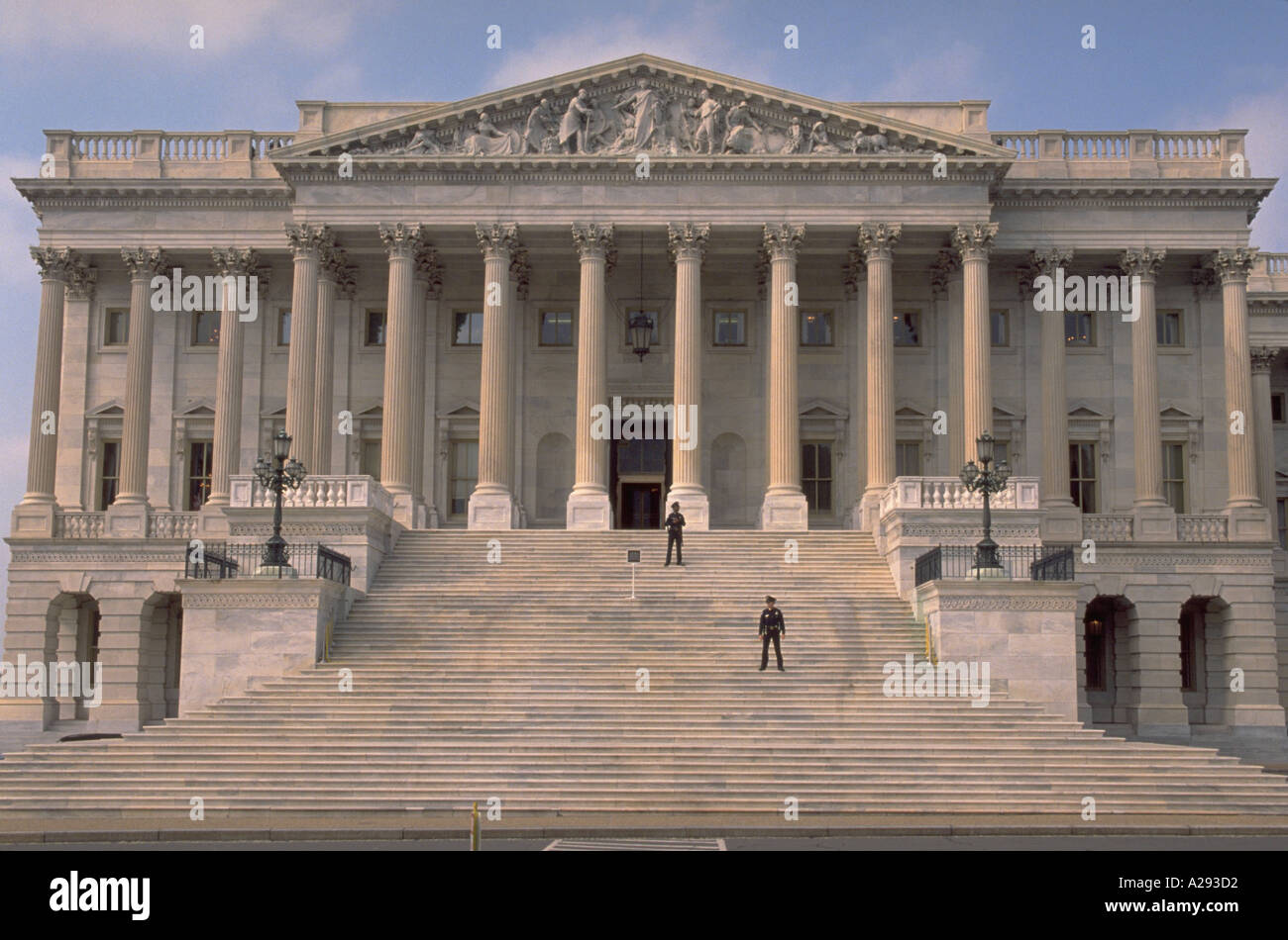 Exterior Of The United States House Of Representatives At The U Capitol Washington Dc