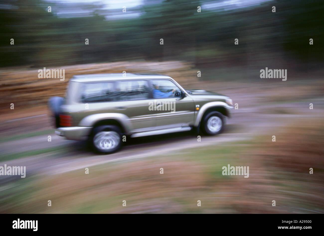 1998 Nissan Patrol GR - Stock Image