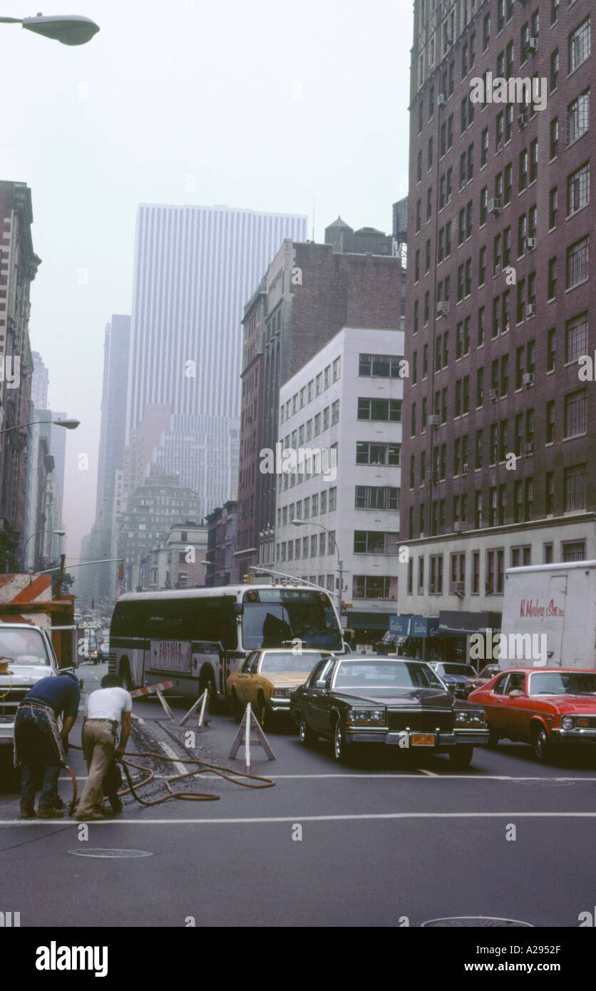 what causes air pollution in new york