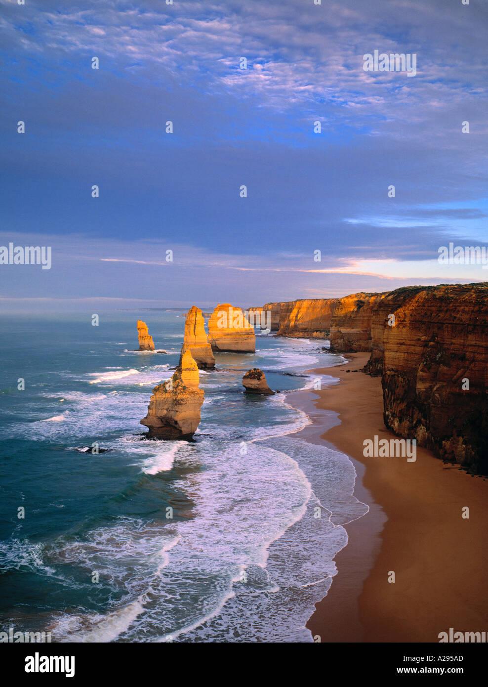 12 Apostles, Victoria, Australia - Stock Image