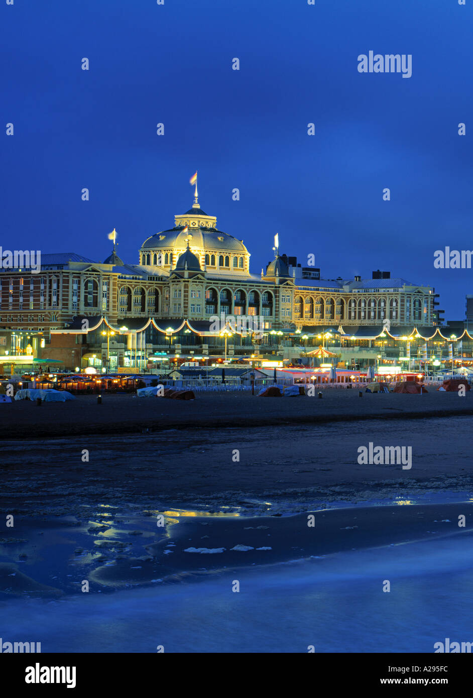Casino, Scheveningen, Zuid, Holland - Stock Image