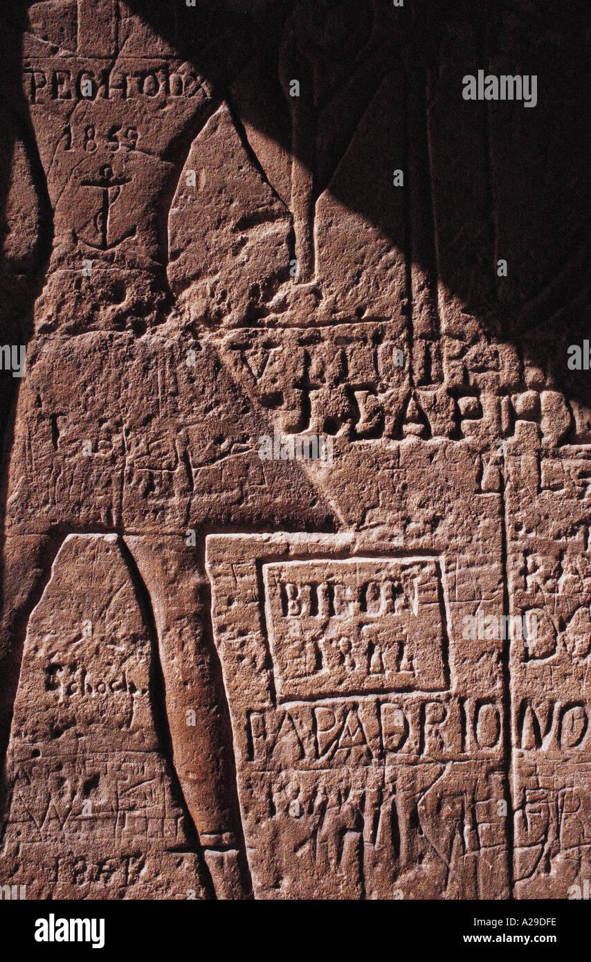 AFRICA EGYPT ABU SIMBEL S Grandadam AFRIQUE EGYPTE ABOU SIMBEL - Stock Image