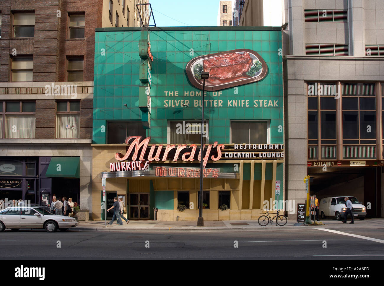 murrary's steak house minneapolis town centre - Stock Image