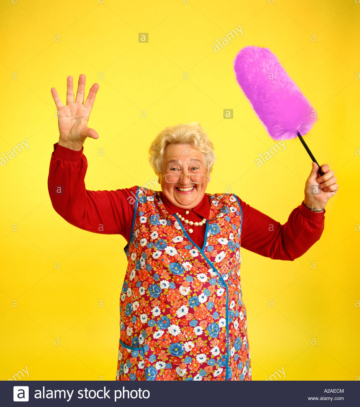 Règles et demande d'accès aux PA - Page 19 A-gleeful-granny-waves-her-bright-pink-feather-duster-wearing-a-floral-A2AECM