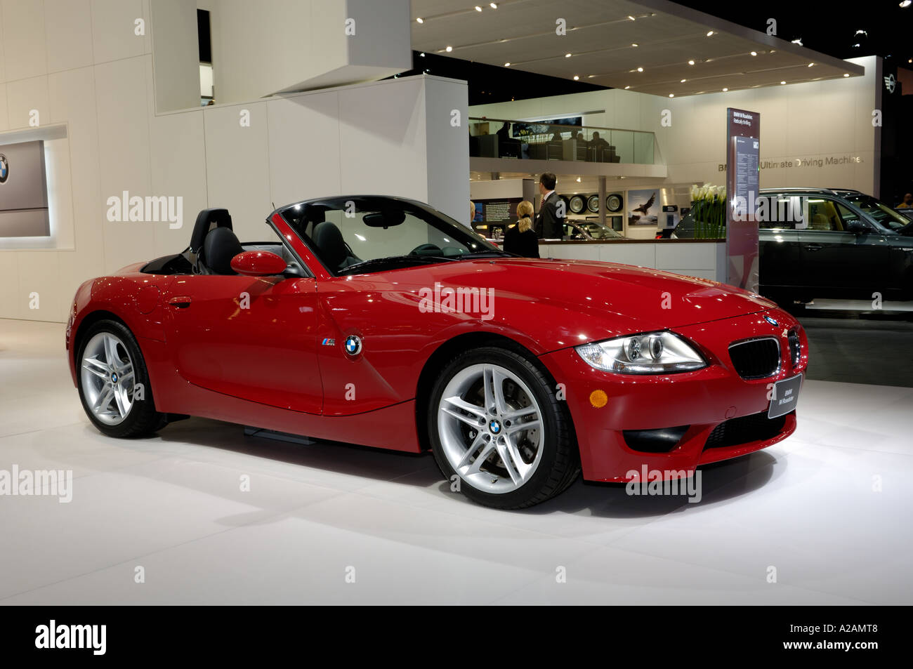 2006 BMW Z4 M roadster at the 2006 North American International Auto ...