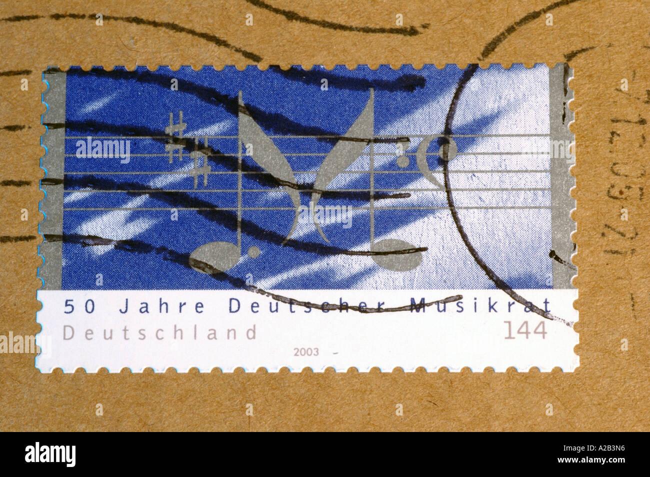Canceled stamp - Stock Image