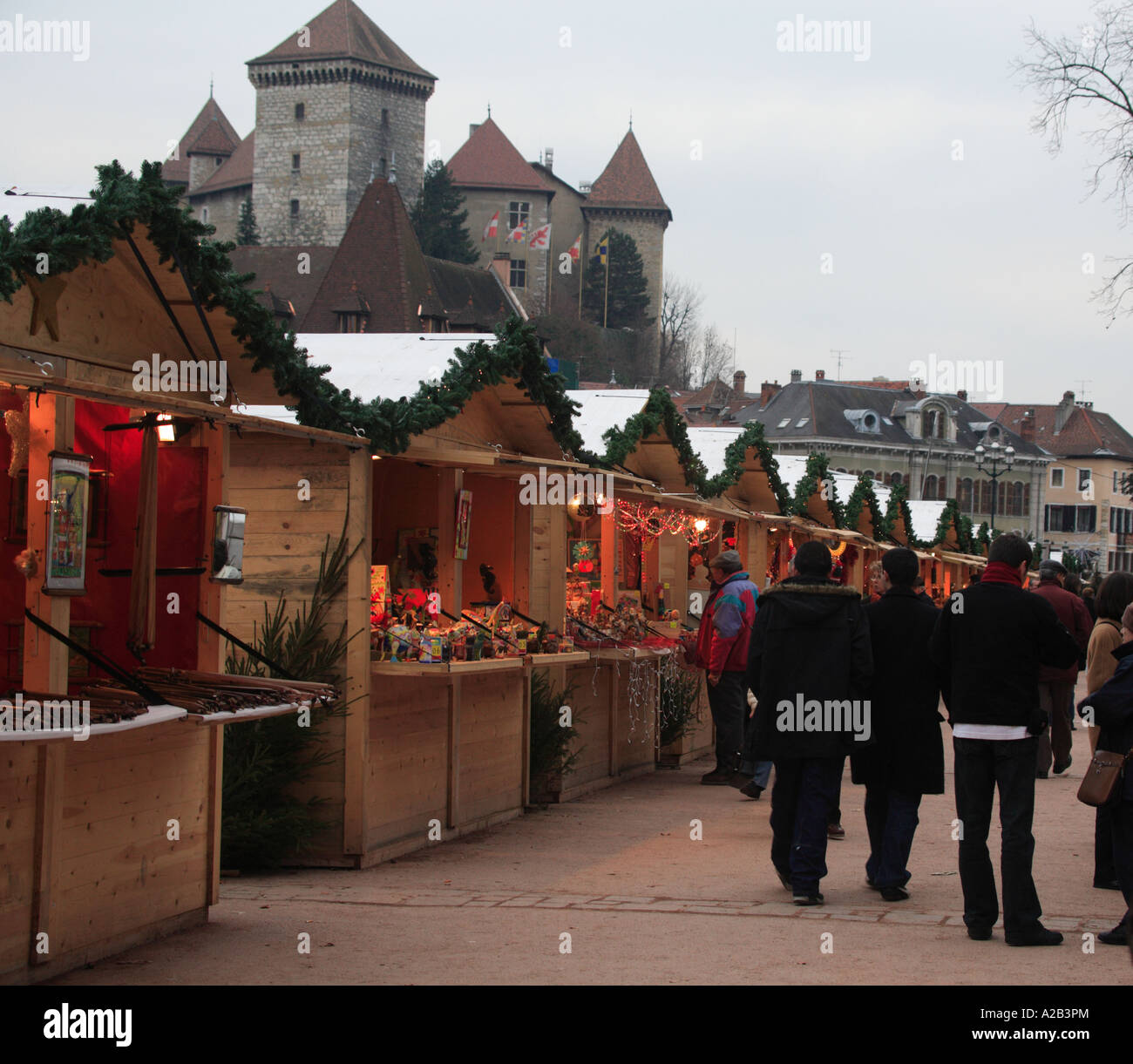 Annecy France Christmas Market 2020 Annecy France Europe euro christmas xmas market traders stall