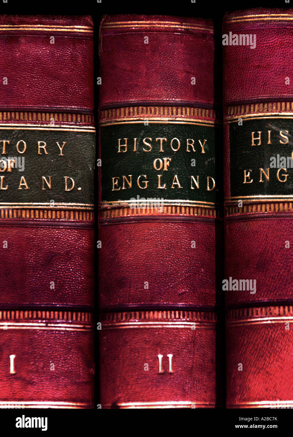Vintage History of England 3 Volumes - Stock Image