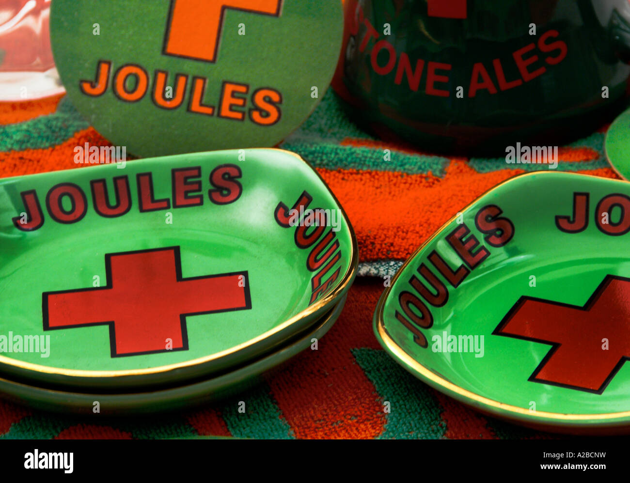 Joules of Stone Memorabilia for Editorial Use Only - Stock Image