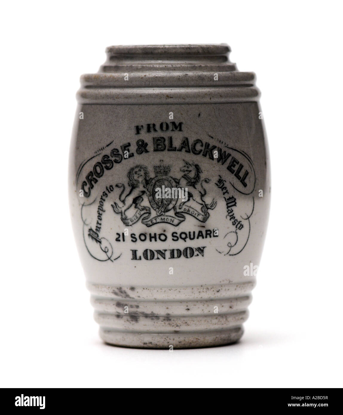 Crosse and Blackwell Pot early 20th Century - Stock Image