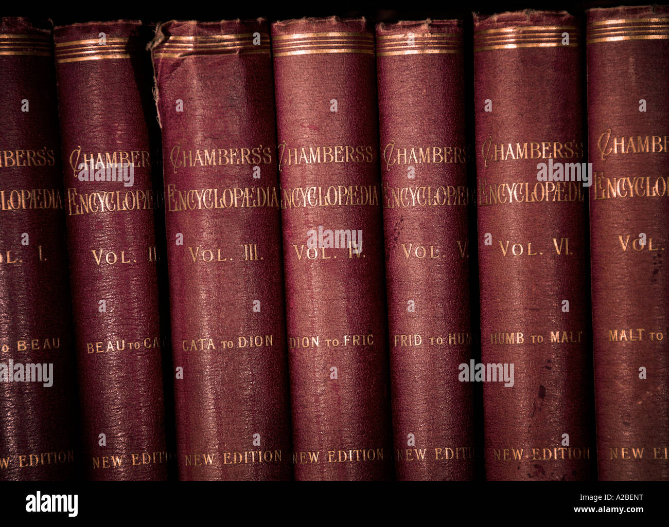Chambers' Encyclopaedia 1901 EDITORIAL USE ONLY - Stock Image
