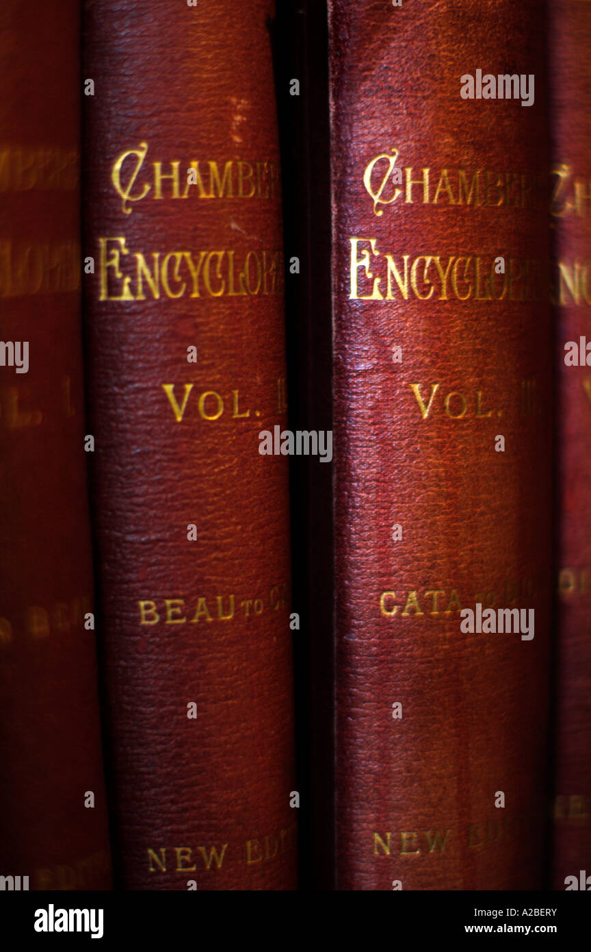 Chambers's Encyclopaedia 1901 EDITORIAL USE ONLY - Stock Image