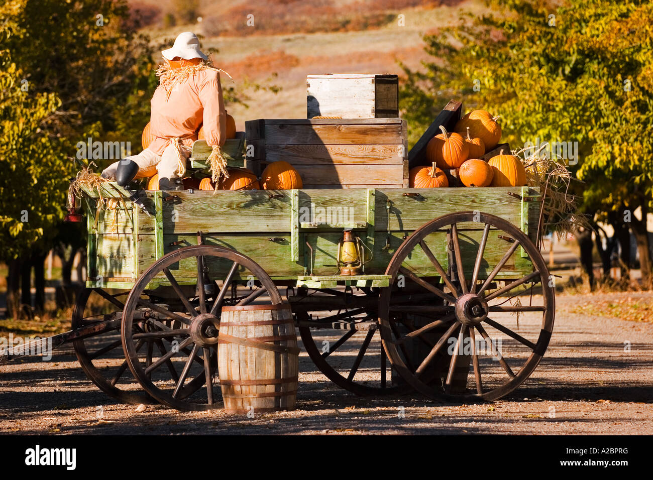 Antique Farm Wagon In Old Deseret Village In Salt Lake City Utah Decorated A Bprg on Old Deseret Village Salt Lake City