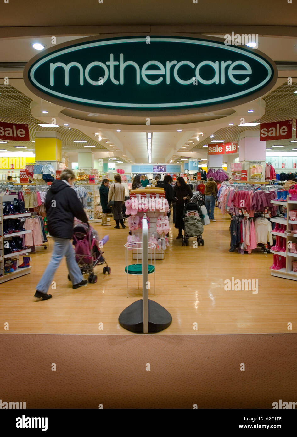 Mothercare Store, Norwich, Norfolk, UK - Stock Image