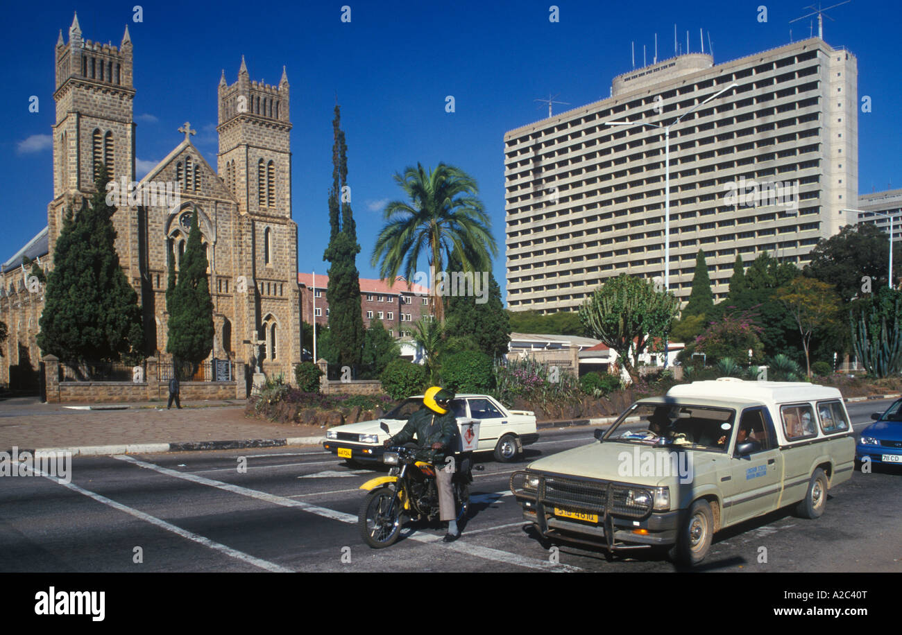 The heart of Zimbabwe - the capital of Harare 67