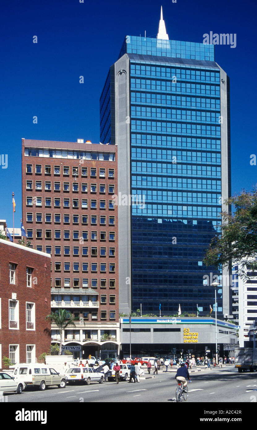 The heart of Zimbabwe - the capital of Harare 35