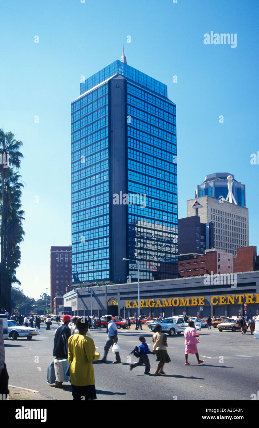 The heart of Zimbabwe - the capital of Harare 93