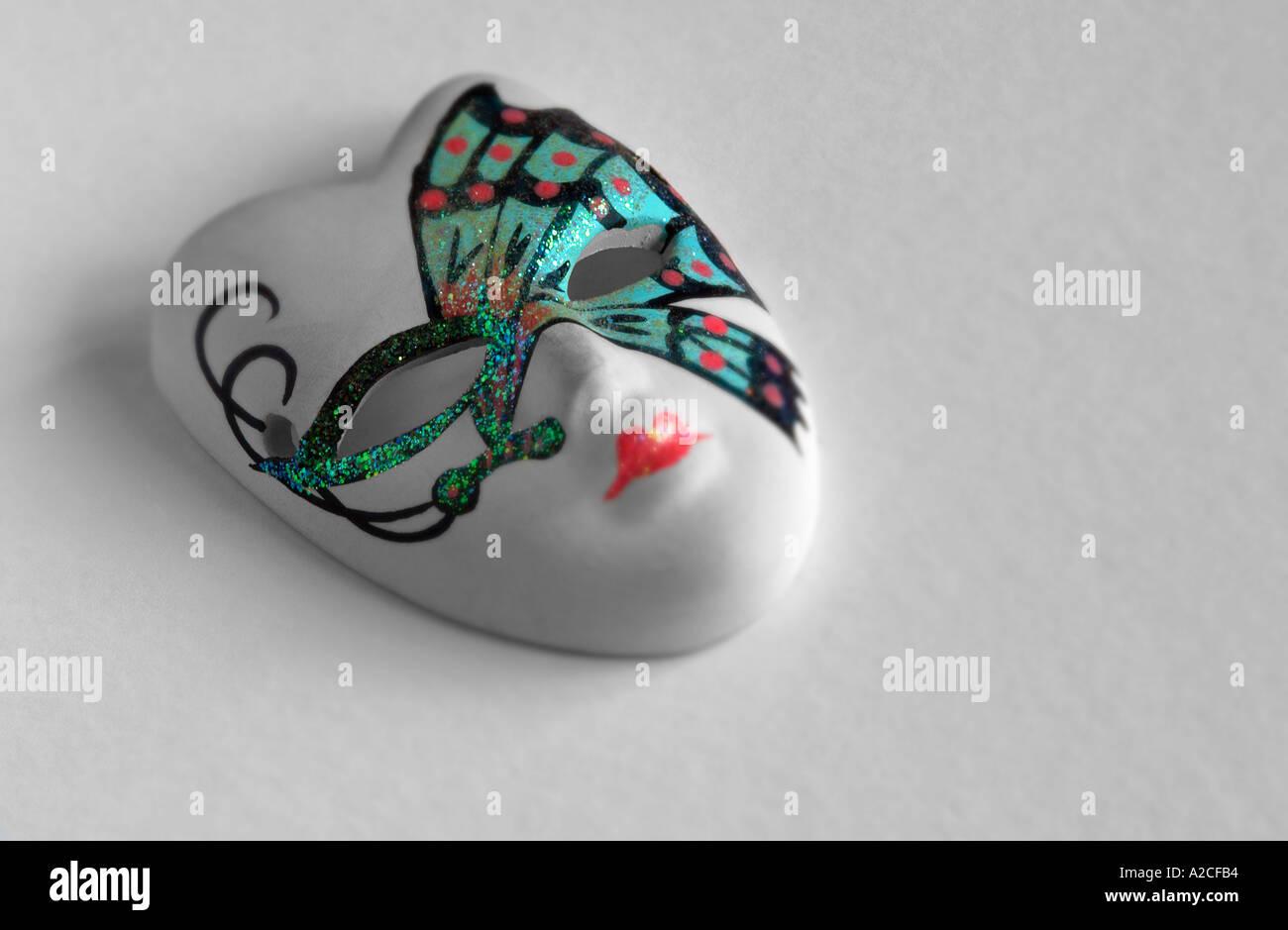 Mini Mask. - Stock Image