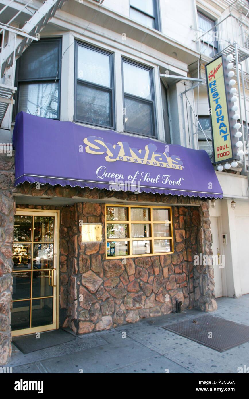 Sylvia s Restaurant Lenox Avenue Harlem Manhattan New York Stock