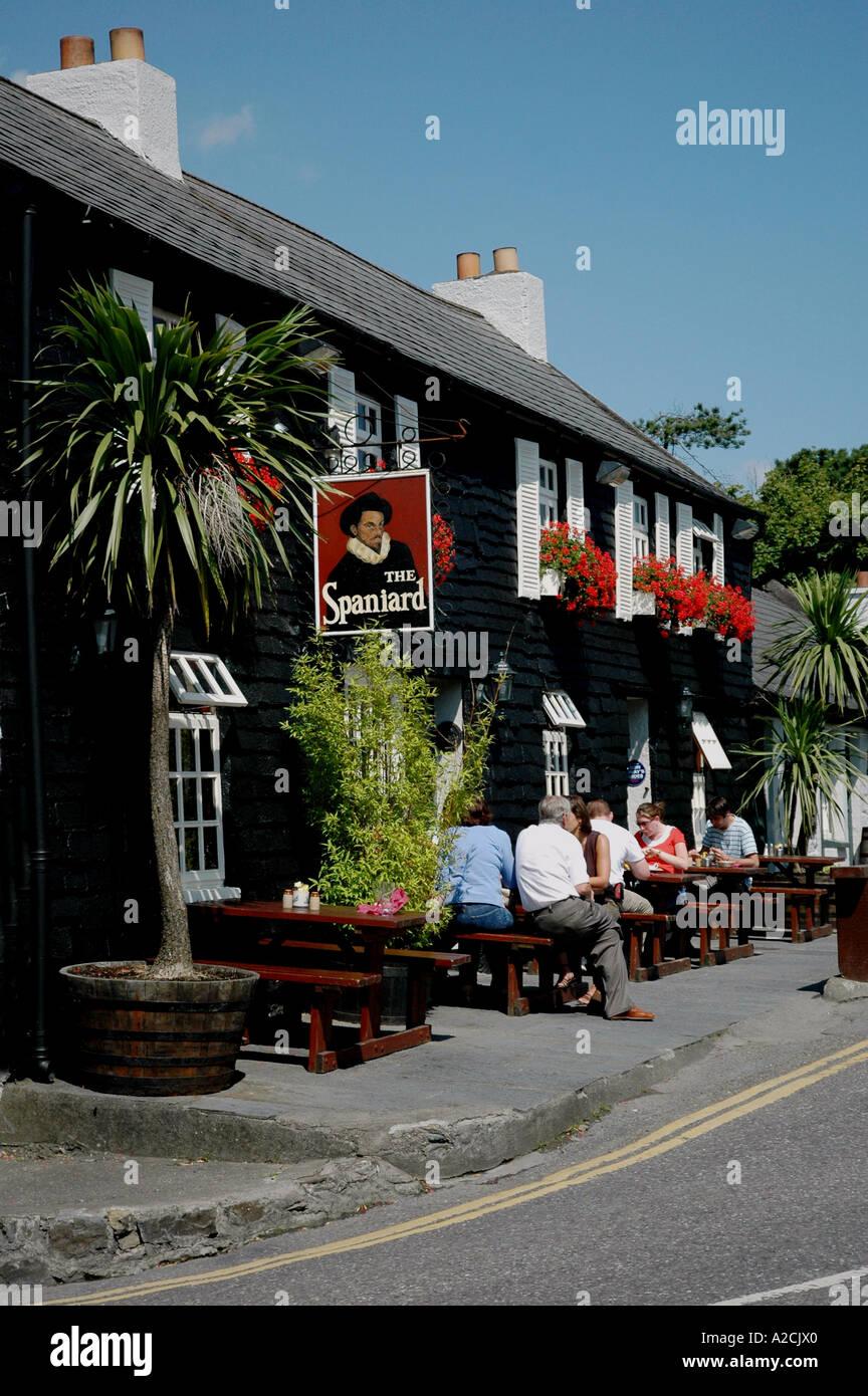The Spaniard -  A Notable Kinsale Pub- Co Cork -Ireland - Stock Image