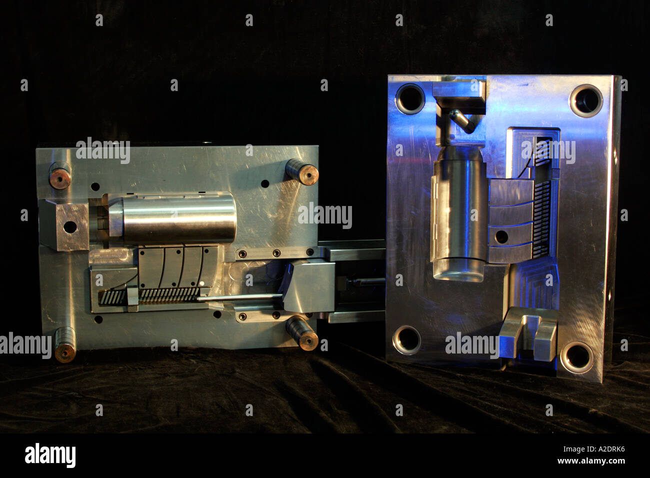Injection Moulding Machine Stock Photos & Injection Moulding