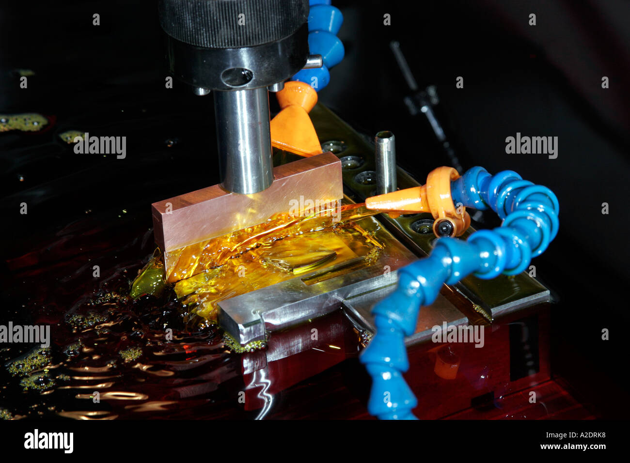 Electric discharge machine - Stock Image