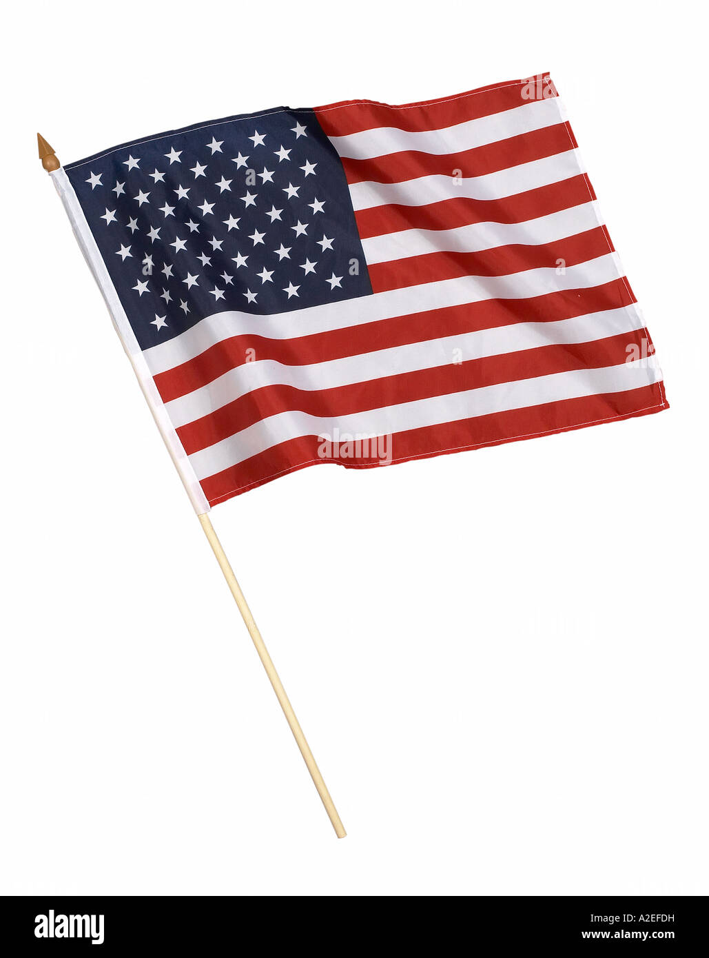 American Flag Studio Still Life - Stock Image