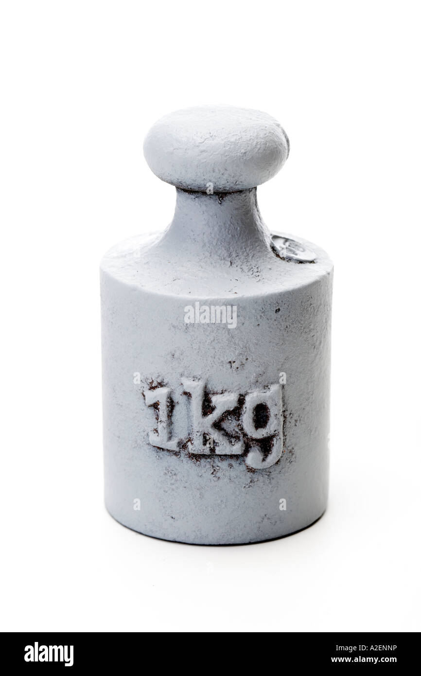 One kg weight - Stock Image