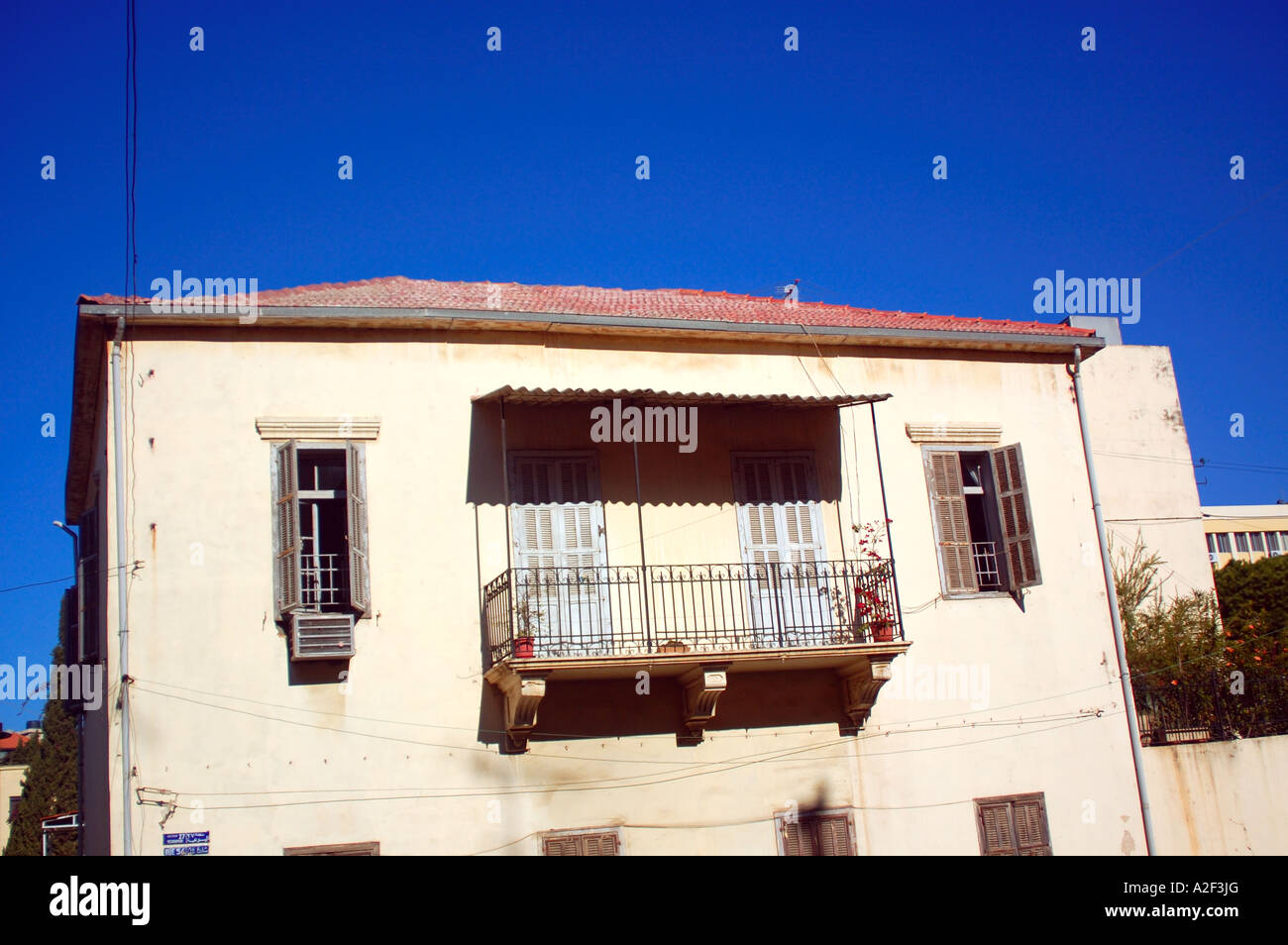 traditional house - Stock Image