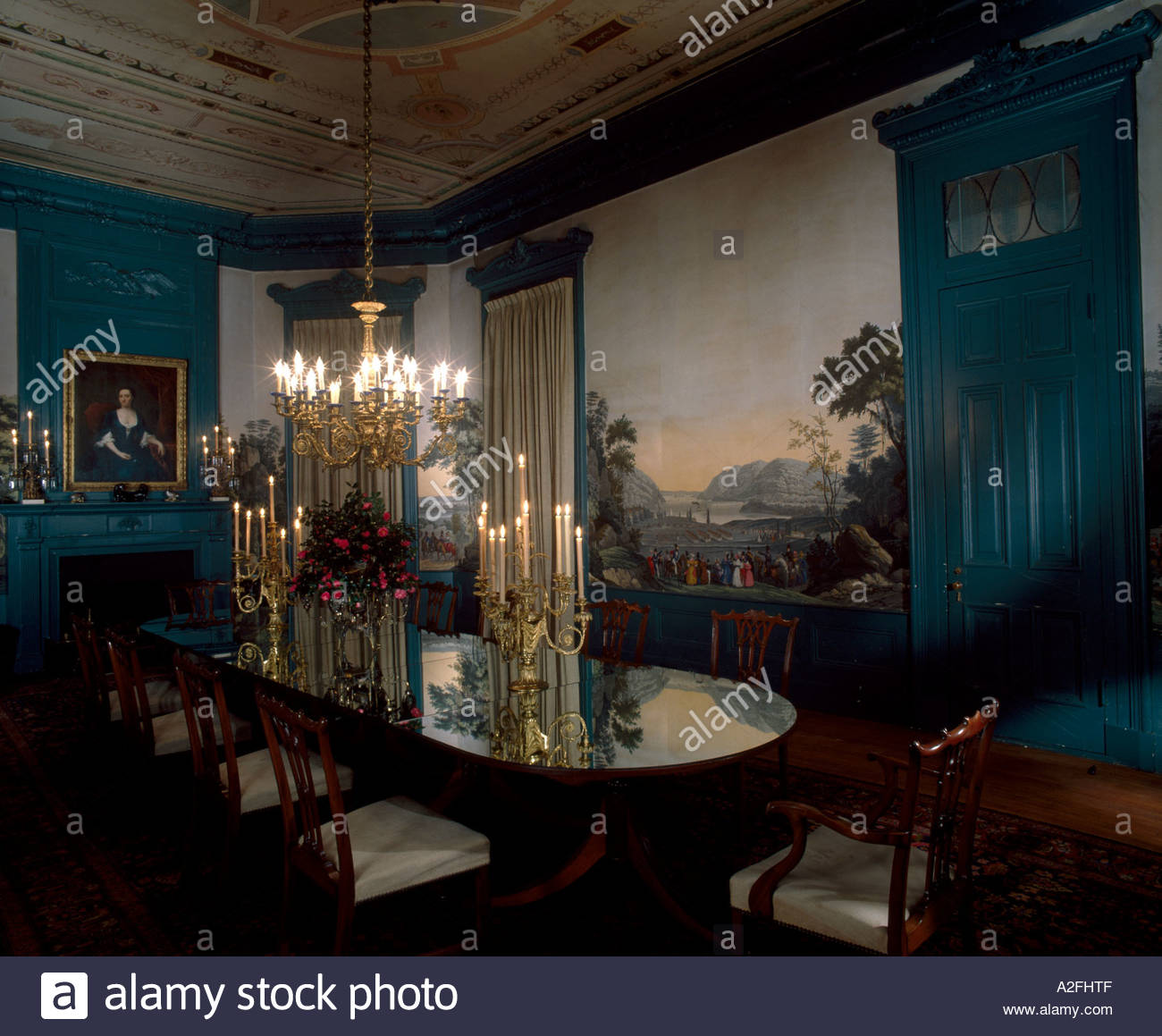 Walter Robinson House Dining Room New Orleans Louisiana 1859