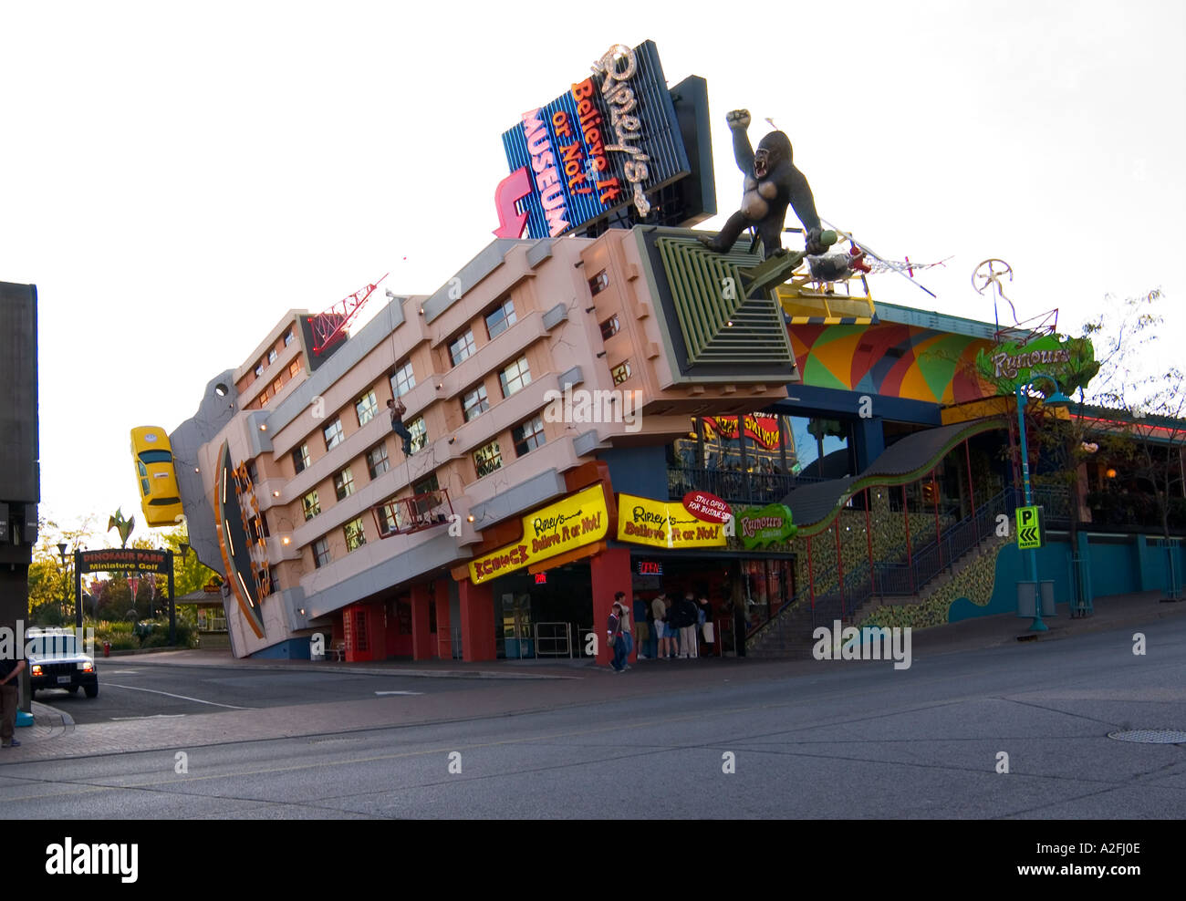 Ripley's Believe It Or Not Niagara Falls Canada - Stock Image
