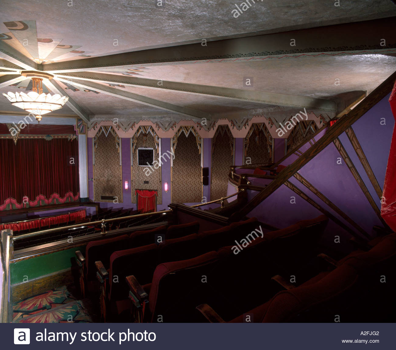 The Criterion Theater. Bar Harbour, Maine, 1932. - Stock Image