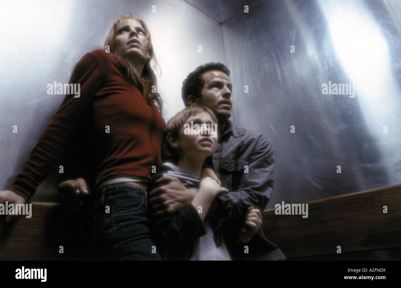 DARKNESS FALLS  2003 Sony film with from left Emma Caulfield, Lee Cormie and Chaney Kley - Stock Image