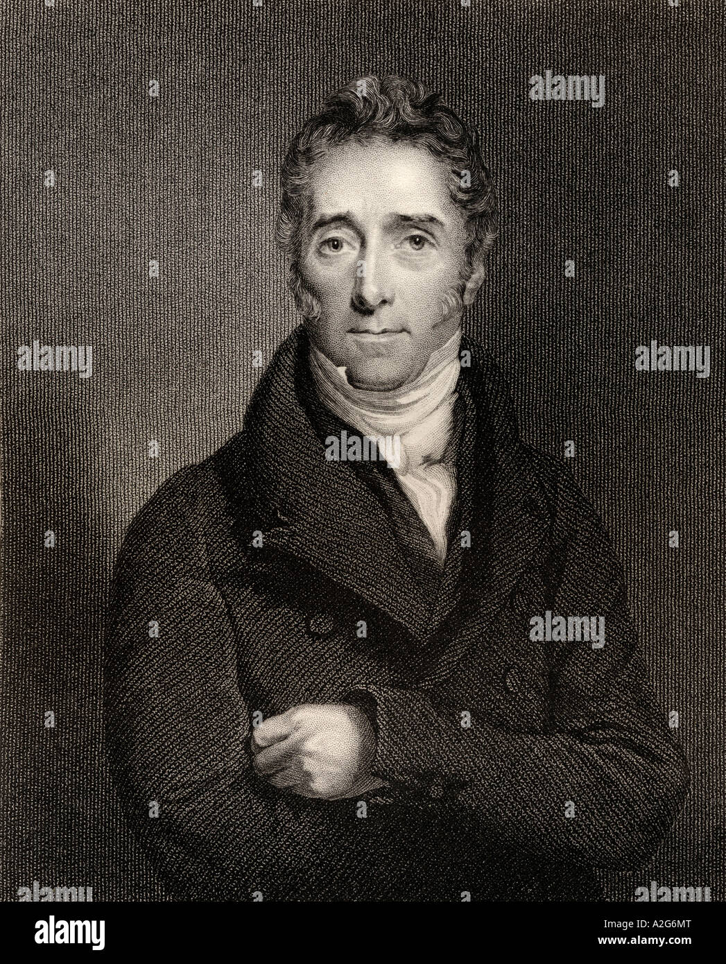 Lord Francis Jeffrey 1773 to 1850 Scottish judge and critic editor of the Edinburgh Review - Stock Image
