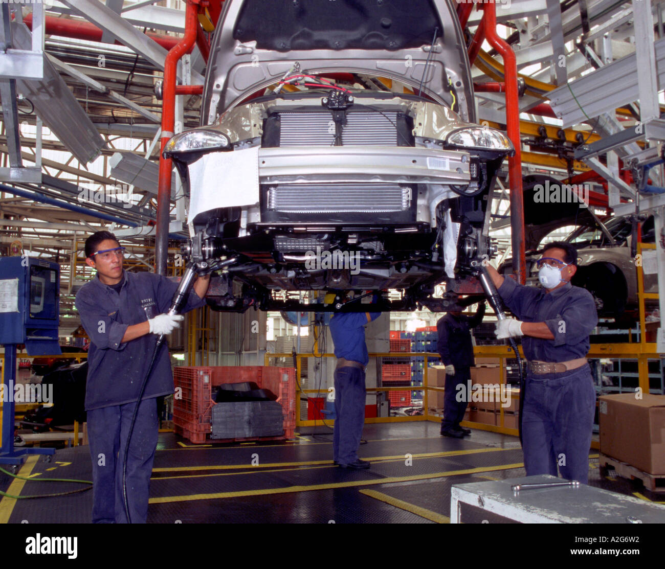 Mexico, Toluca, North America. Assembly Line For PT