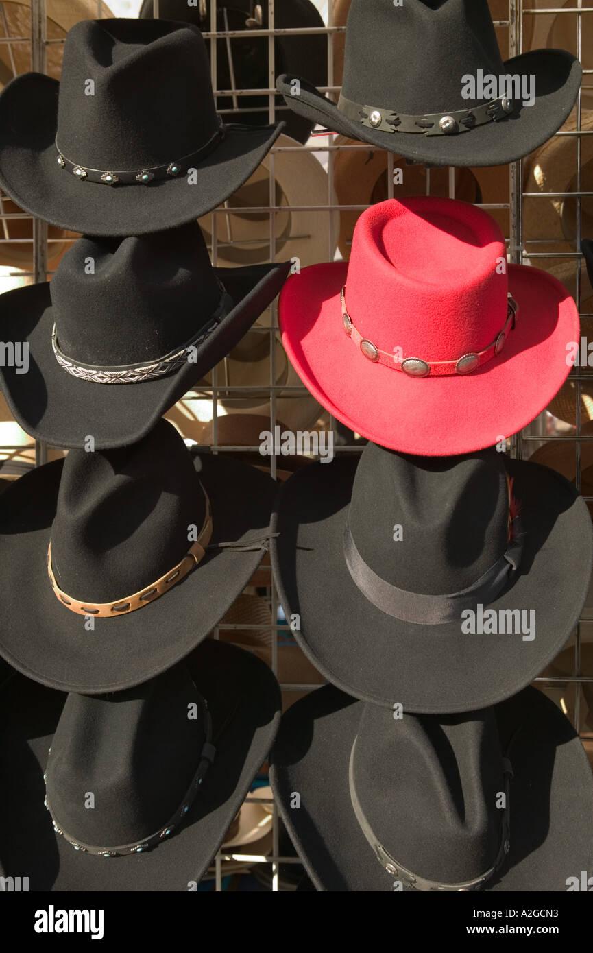 ff0362378de0e spain usa arizona tucson 4th avenue street fair red hats cowboy hats 31d02  acefb