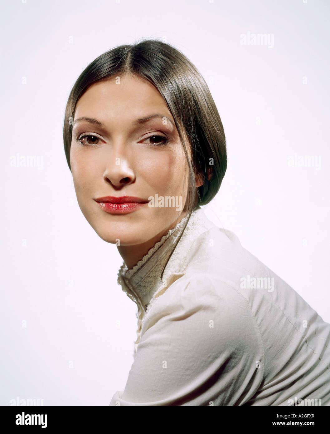 Woman Wisp Of Hair High Resolution Stock Photography and Images