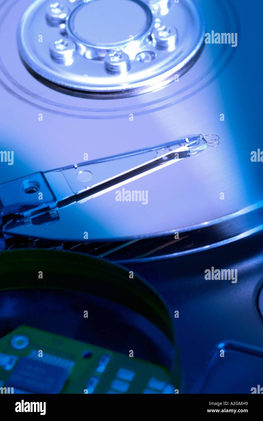 Harddisk Festplatte Stock Photo