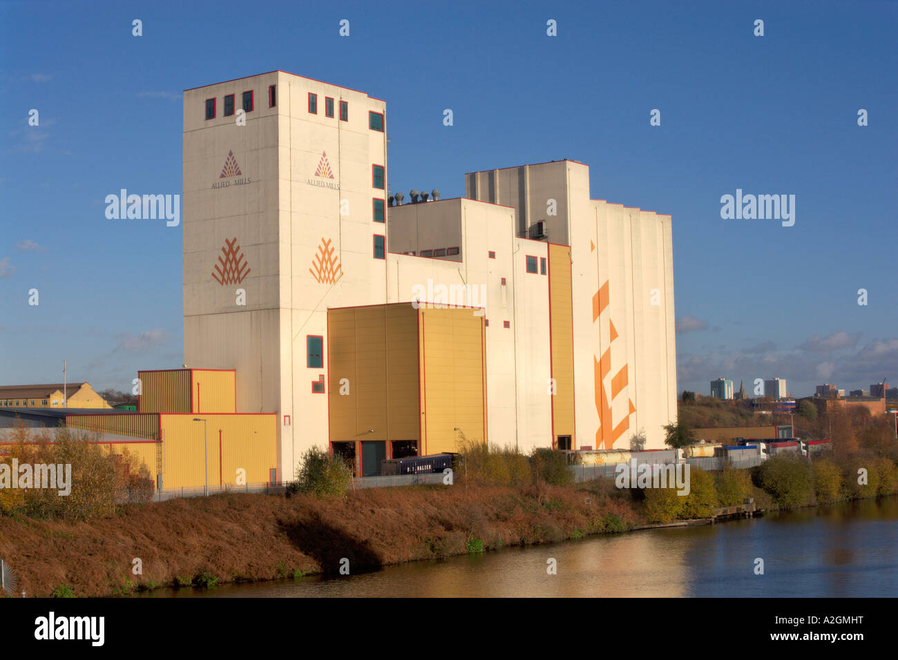 Allied Mills Flour Mills, part of Associated British Foods Plc., - Stock Image