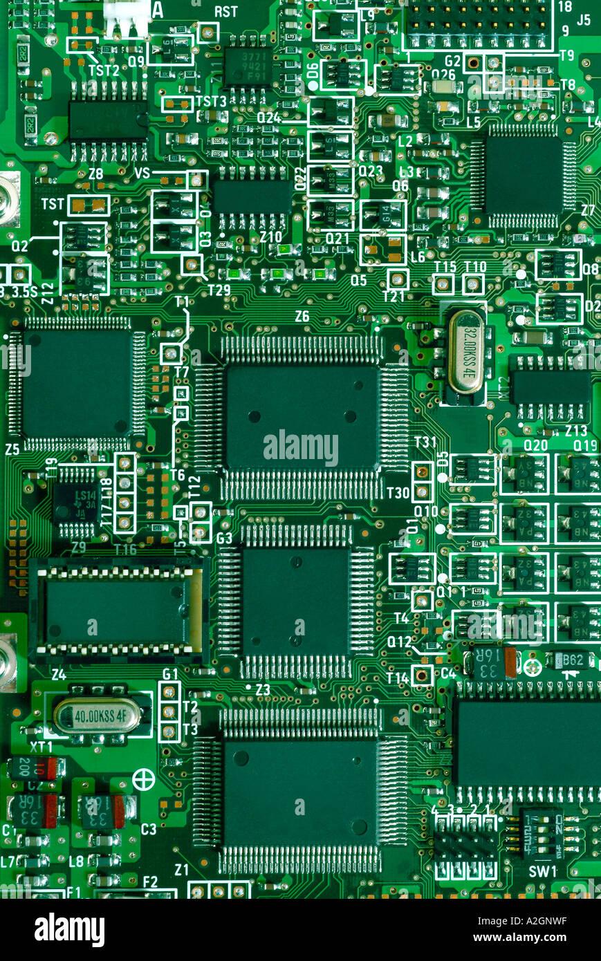 plate board Platine Stock Photo