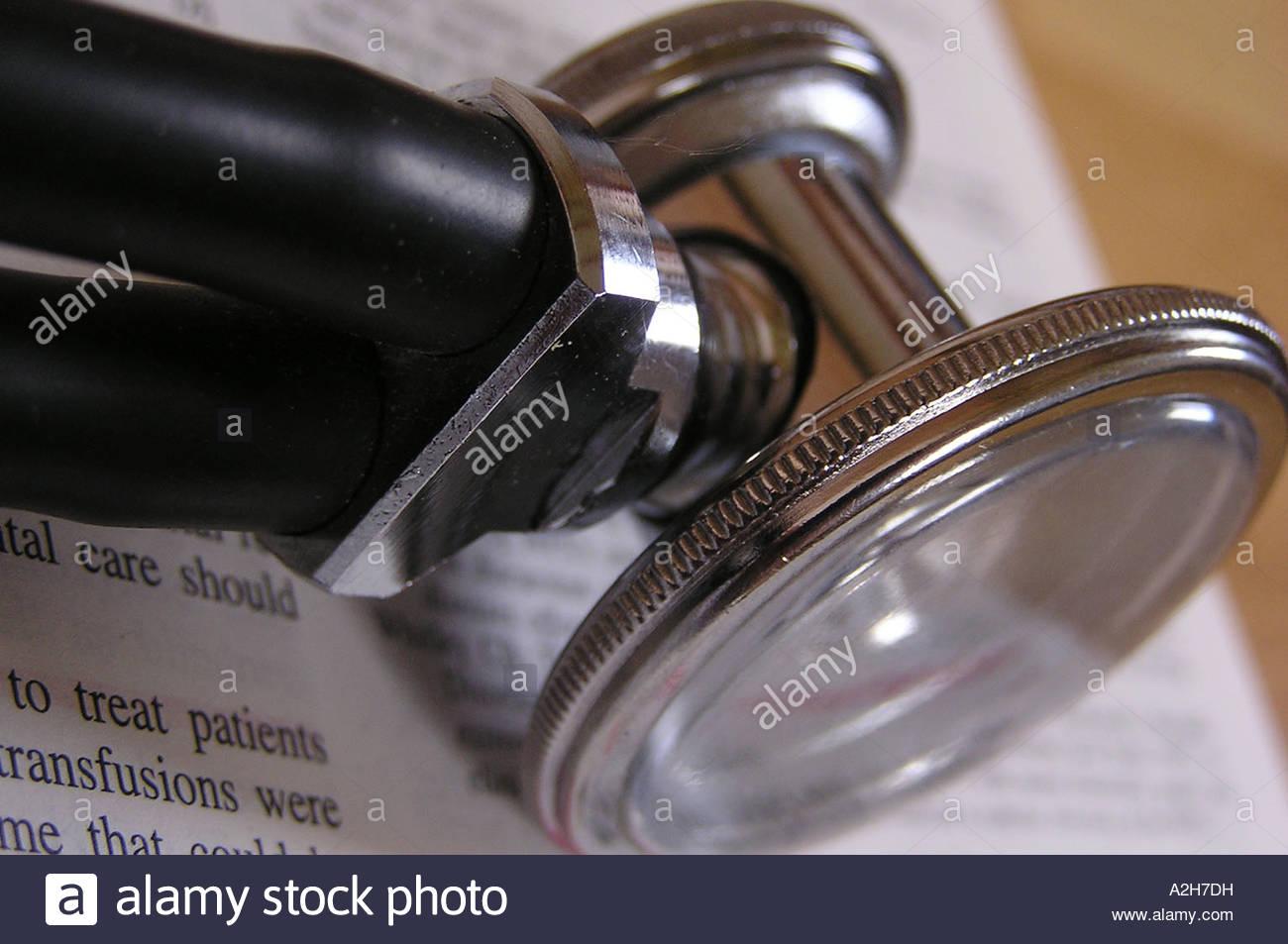 Stethoscope - Stock Image